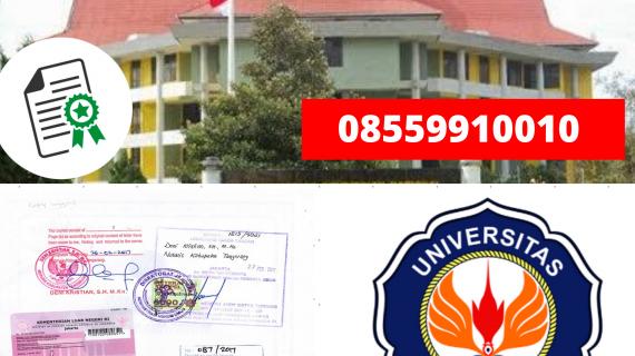 Jasa Legalisir Ijazah Universitas Halu Oleo Di Kemenristek Dikti || 08559910010