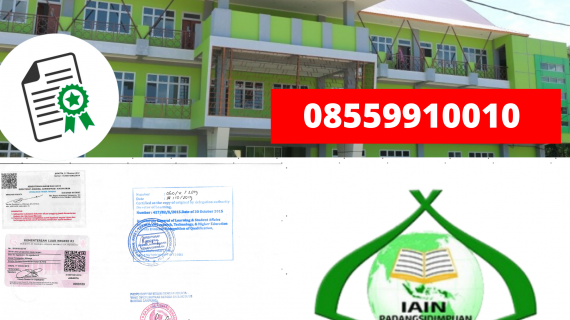Jasa Legalisir Ijazah Institut Agama Islam Negeri Padangsidempuan Di Kemenristek Dikti || 08559910010