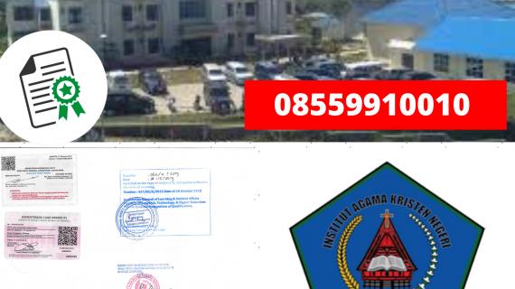 Jasa Legalisir Ijazah Institut Agama Kristen Negeri Tarutung Di Kemenristek Dikti || 08559910010
