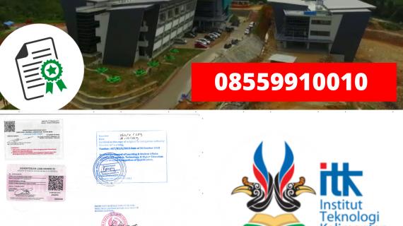 Jasa Legalisir Ijazah Institut Teknologi Kalimantan Di Kemenristek Dikti || 08559910010