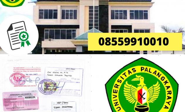 Jasa Legalisir Ijazah Universitas Palangkaraya Di ...