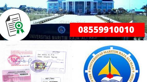 Jasa Legalisir Ijazah Universitas Maritim Raja Ali Haji Di Kemenristek Dikti || 08559910010