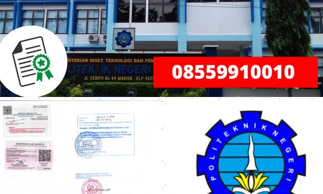 Jasa Legalisir Ijazah Politeknik Negeri Madiun Di ...