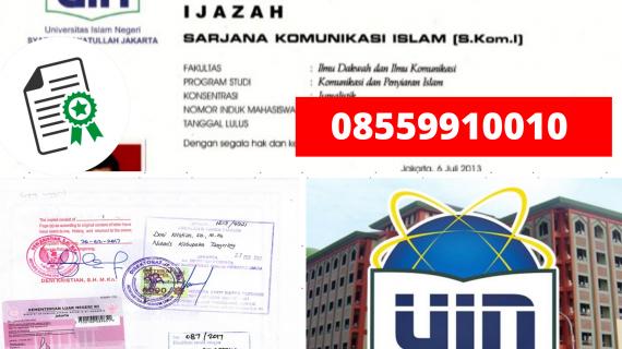 Jasa Legalisir Ijazah Universitas Islam Negeri Syarif Hidayatullah Di Kemenristek Dikti || 08559910010