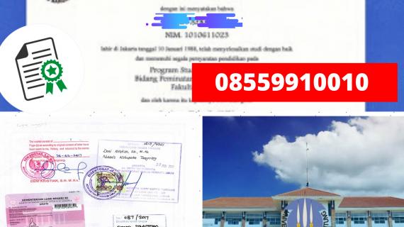 Jasa Legalisir Ijazah Universitas Bangka Belitung Di Kemenristek Dikti || 08559910010