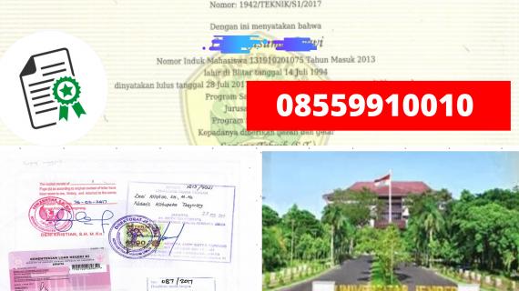 Jasa Legalisir Ijazah Universitas Jember Di Kemenristek Dikti || 08559910010