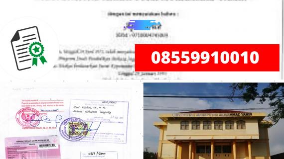 Jasa Legalisir Ijazah Universitas Mahaputra Muhammad Yamin ...