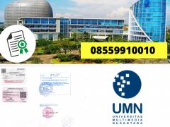 Legalisir Ijazah Universitas Multimedia Nusantara Di Kemenristek Dikti    08559910010