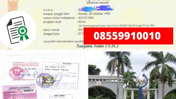 Jasa Legalisir Ijazah Universitas Negeri Semarang Di Kemenristek Dikti    08559910010
