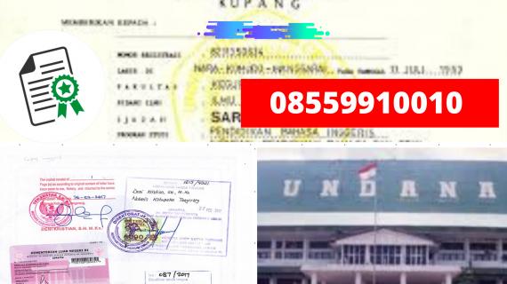 Jasa Legalisir Ijazah Universitas Nusa Cendana Di Kemenristek Dikti || 08559910010