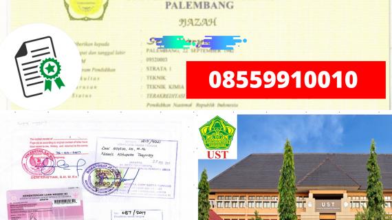Jasa Legalisir Ijazah Universitas Tamansiswa – palembang Di Kemenristek Dikti    08559910010
