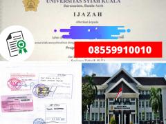 Legalisir Ijazah Universitas Syah Kuala Di Kemenristek Dikti || 08559910010