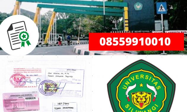 Jasa Legalisir Ijazah Universitas Siliwangi Di Kemenristek ...