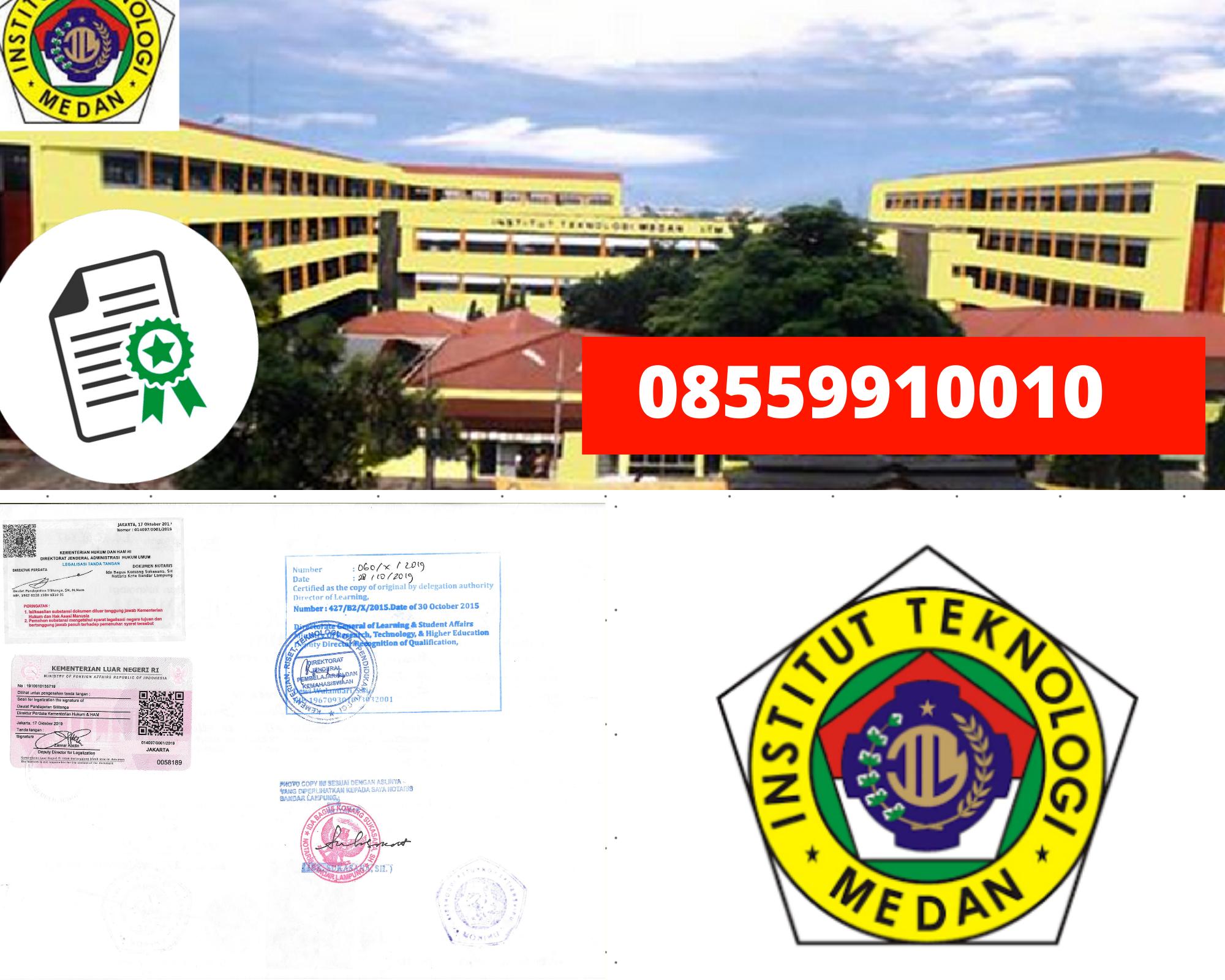 Legalisir Ijazah Institut Teknologi Medan Di Kemenristek Dikti || 08559910010