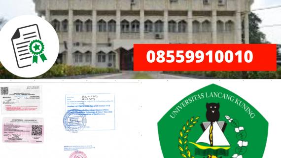 Jasa Legalisir Ijazah Universitas Lancang Kuning Di Kemenristek Dikti || 08559910010