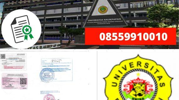 Jasa Legalisir Ijazah Universitas Balikpapan Di Kemenristek Dikti || 08559910010