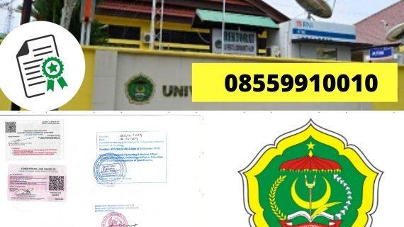 Jasa Legalisir Ijazah Universitas Cokroaminoto Palopo Di Kemenristek Dikti || 08559910010