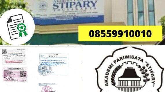Jasa Legalisir Ijazah Akademi Pariwisata Stipar Sleman Di ...