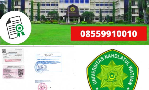 Jasa Legalisir Ijazah Universitas Nadhatul Wathan Di ...