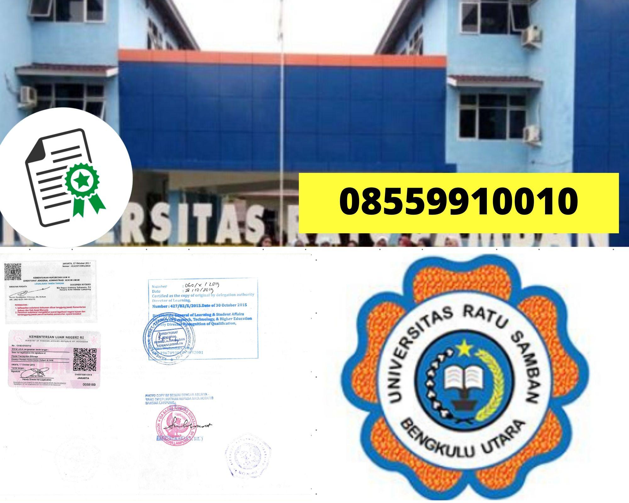 Jasa Legalisir Ijazah Universitas Ratu Samban Arga Makmur Bengkulu Utara Di Kemenristek Dikti 08559910010 Jasa Legalisir Com
