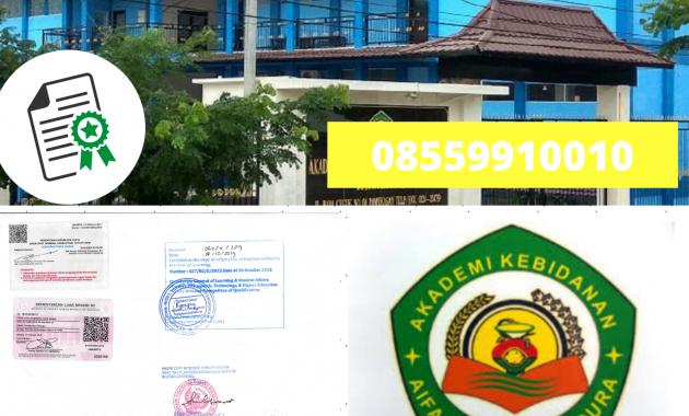 Jasa Legalisir Ijazah Akademi Kebidanan Aifa Husada Di ...