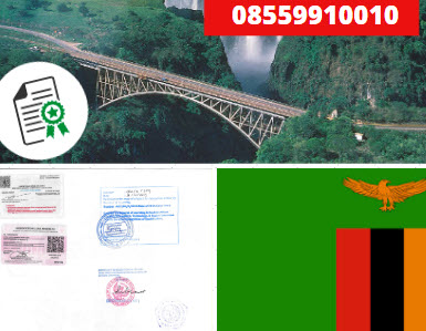 Jasa Legalisir KEMENKUMHAM di Zambia || 08559910010