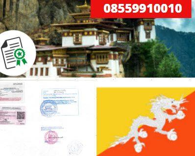 Jasa Legalisir KEMENKUMHAM di Bhutan || 08559910010