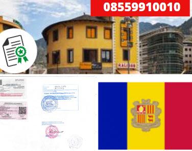 Jasa Legalisir KEMENKUMHAM di Andorra || 08559910010