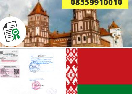 Jasa Legalisir KEMENKUMHAM di Belarus || 08559910010