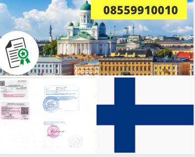 Jasa Legalisir KEMENKUMHAM di Finlandia || 08559910010