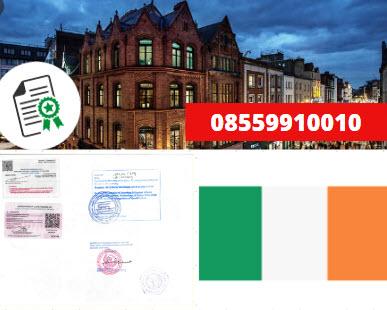 Jasa Legalisir KEMENKUMHAM di Irlandia || 08559910010