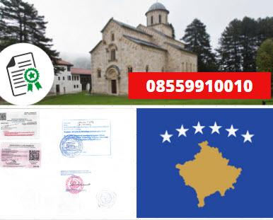 Jasa Legalisir KEMENKUMHAM di Kosovo || 08559910010