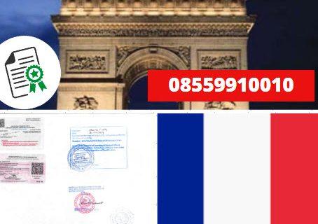 Jasa Legalisir KEMENKUMHAM di Prancis || 08559910010