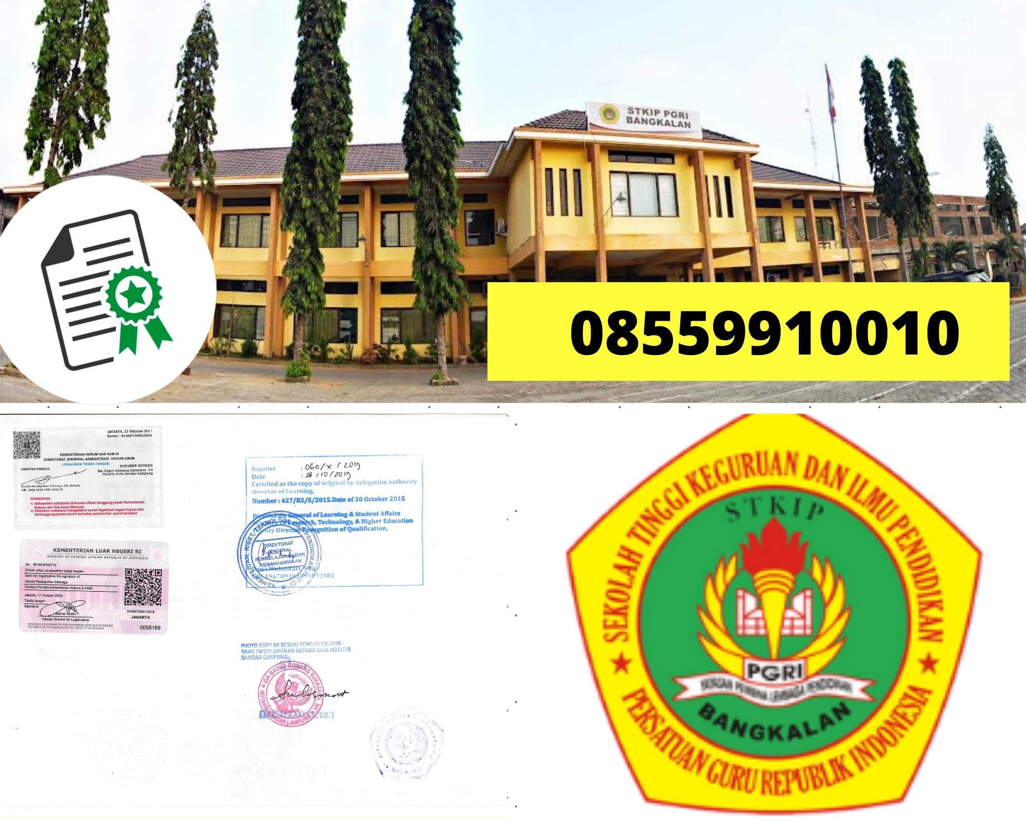 Legalisir Ijazah STKIP PGRI Bangkalan Di Kemenristek Dikti || 08559910010