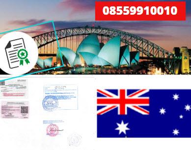 Jasa Legalisir KEMENKUMHAM di Australia || 08559910010