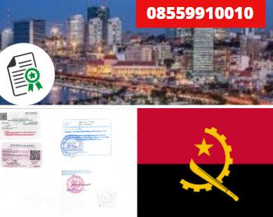 Jasa Legalisir KEMENKUMHAM di Angola    08559910010