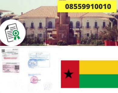 Jasa Legalisir KEMENKUMHAM di Guinea-Bissau || 08559910010
