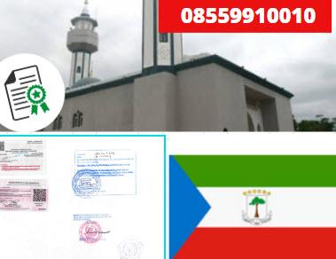 Jasa Legalisir KEMENKUMHAM di Guinea Khatulistiwa || 08559910010