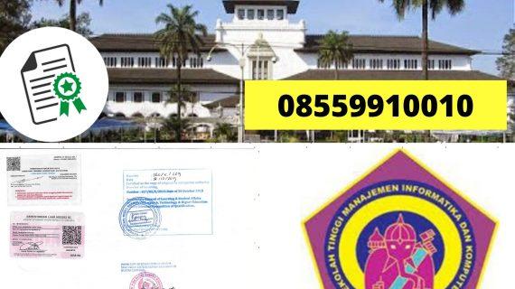 Jasa Legalisir Ijazah STMIK Ganesha Bandung Di Kemenristek ...