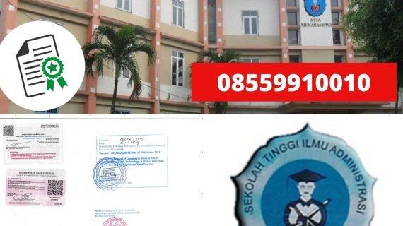 Jasa Legalisir Ijazah Sekolah Tinggi Ilmu Administrasi ...