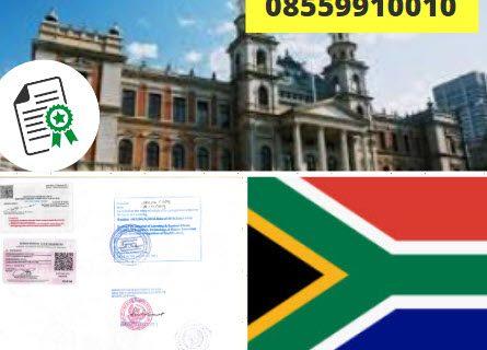 Jasa Legalisir KEMENKUMHAM di Afrika Selatan || 08559910010