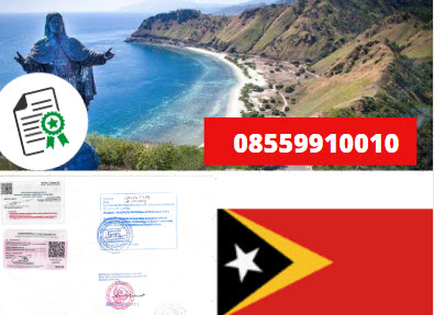 Jasa Legalisir KEMENKUMHAM di Timor Leste || 08559910010