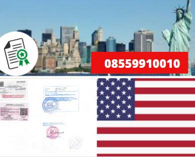 Jasa Legalisir KEMENKUMHAM di Amerika Serikat || 08559910010