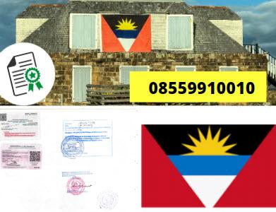 Jasa Legalisir KEMENKUMHAM di Antigua dan Barbuda || 08559910010