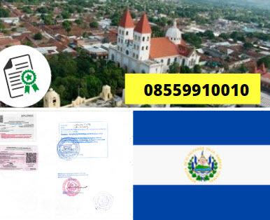Jasa Legalisir KEMENKUMHAM di El Salvador || 08559910010