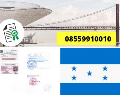 Jasa Legalisir KEMENKUMHAM di Honduras || 08559910010