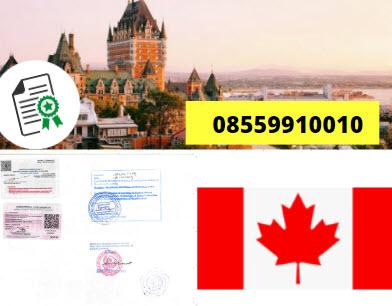 Jasa Legalisir KEMENKUMHAM di Kanada || 08559910010