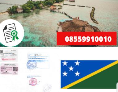 Jasa Legalisir KEMENKUMHAM di Kepulauan Solomon || 08559910010