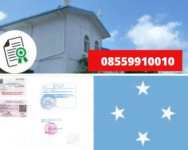 Jasa Legalisir KEMENKUMHAM di Mikronesia || 08559910010