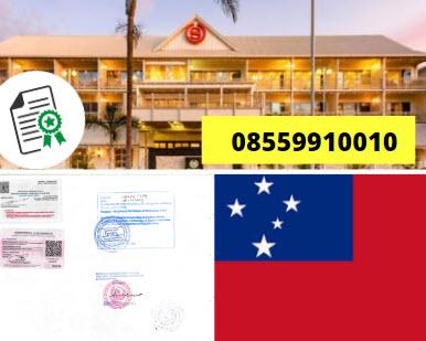 Jasa Legalisir KEMENKUMHAM di Samoa || 08559910010